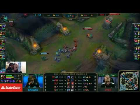 , title : '[PapaSmithy VOD Review] LCS Playoffs Spring 2019: Cloud9 vs. TSM Game 4'