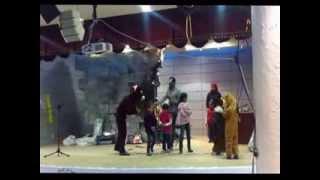 حفل خيري في منطقة القلمون رابع ايام العيد الاضحى لاطفال حمص المهجريين