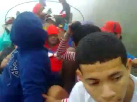 """LA BANDA DE LOS KUERVOS SUIXIDAS RUMBO A MEDELLIN"" Barra: La Banda de Los Kuervos • Club: Junior de Barranquilla"