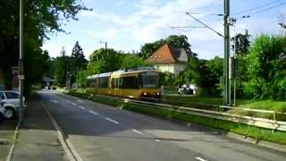 preview picture of video 'S-Bahn (Murgtalbahn) in Gernsbach'