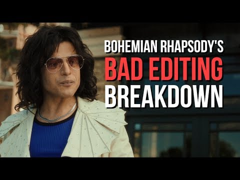 "Someone put together how bad the editing was in ""BEST FILM EDITING"" Oscar Winning Bohemian Rhapsody"
