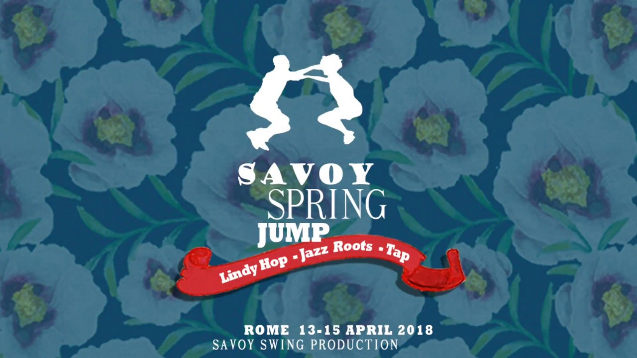 SAVOY SPRING JUMP 2018 -Saturday night party - first dance-Swing Valley Band & Mauro L. Porro