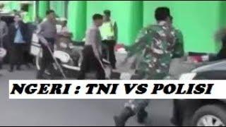 Mengerikan!! Kejadian Saat TNI Mengamuk di Kantor  POLISI