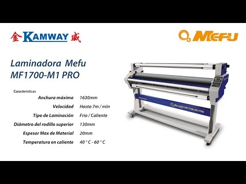 Laminadora MEFU 1700 PRO Frio / Caliente
