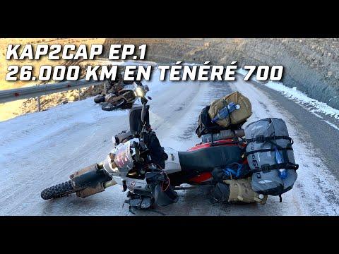 Cap Nord to Capetown ► 26.000 km en Ténéré 700 ►épisode 1