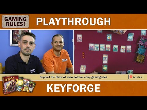 KeyForge - Gaming Rules! Teach & Playthrough
