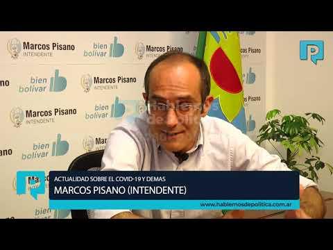Nota exclusiva con el intendente Marcos Pisano.