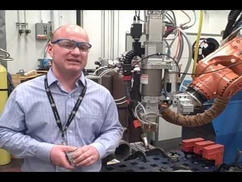 GE's New Super Powerful Laser Welding System Is Shriekingly Fast