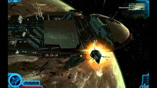 "SWTOR Space Battle 1 - ""Jabiim Escort"""