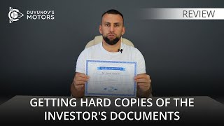 Shares - unit certificates can be ordered at your home address