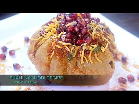 SHAHI KACHORI RECIPE (RAJ KACHORI) *COOK WITH FAIZA*