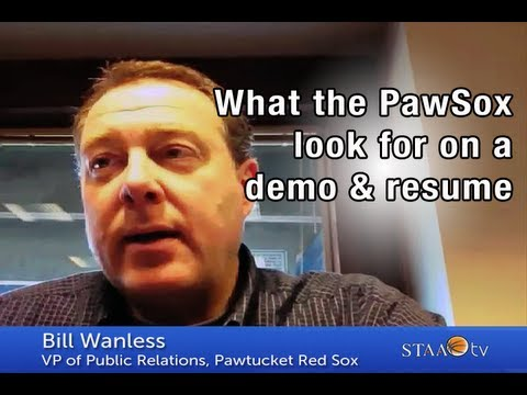 Setting Yourself Apart With Your Demo And Resume - Bill Wanless