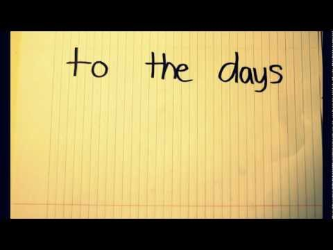 Take Me Back - Matt Vinson (OFFICIAL LYRIC VIDEO)