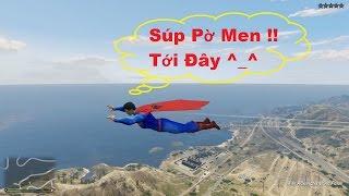 GTA 5 Superman (NEW) Mod - Trở Thành Siêu Nhân, Bạn Sẽ Làm Gì?