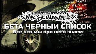 МИА БЫЛА В ЧЕРНОМ СПИСКЕ? | NFS:Most Wanted - Бета черный список [feat. SKANRO]