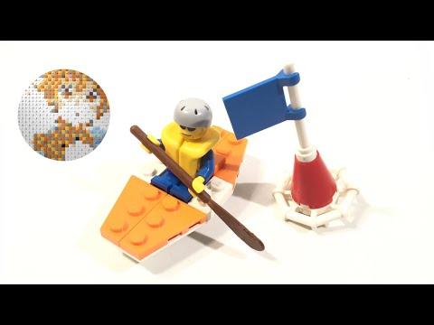 Vidéo LEGO City 5621 : Le kayakiste
