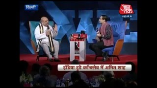 BJP National President Shri Amit Shah addressed India Today Conclave 2016 in New Delhi