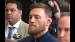 Conor McGregor Court Appearance for UFC 223 Incident