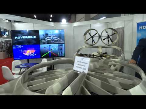 Flying motor bike HOVERBIKE MSPO 2017