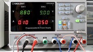 New Siglent SPD3303X Power Supply For The Lab  - Самые
