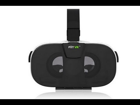 Fiit VR 2N VR 3D Virtual Reality Headset for iOS & Android Smart Phones with Free *Controller