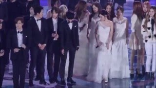 FMV Hyoyeon(snsd) and Minhyuk(cnblue) moments