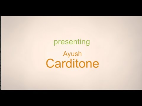 Ayush Carditone Product Review