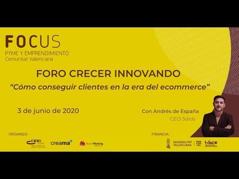 Foro Crecer Innovando Creama - Sesión 1. Cómo conseguir clientes en la era del ecommerce[;;;][;;;]