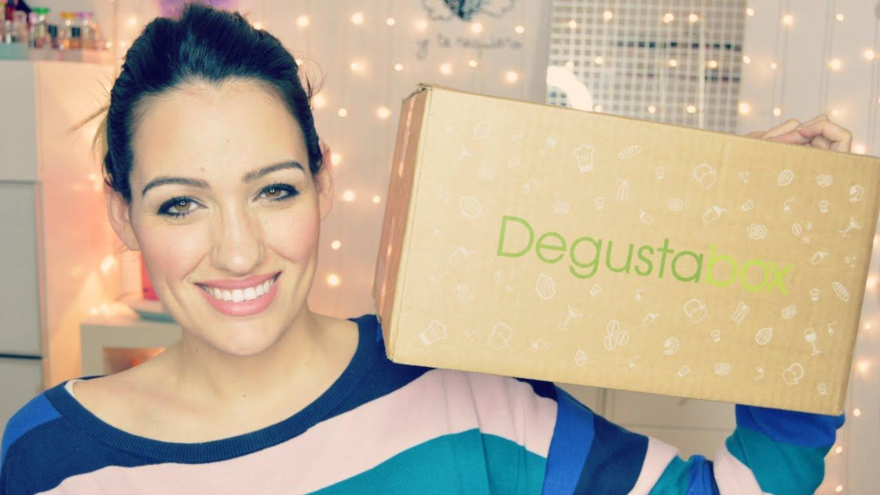 Comida rica en una caja, Degustabox Febrero
