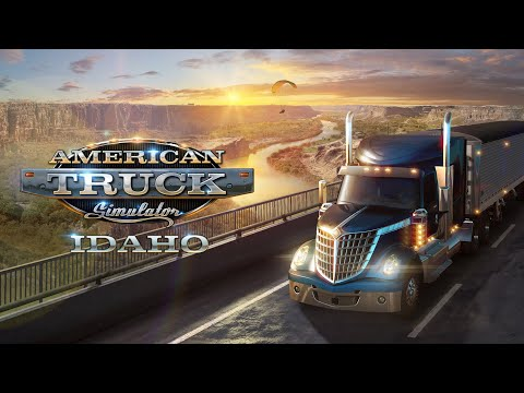 The pretty looking Idaho DLC and 1.38 update for American Truck Simulator are out
