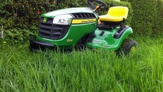 john deere 757 ztrak mowing deep grass 60 7 iron deck zero turn