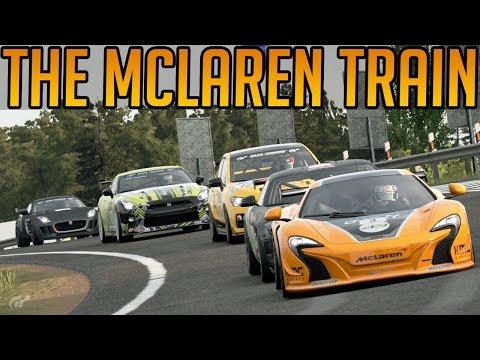 Gran Turismo Sport: The Mclaren Hype Train