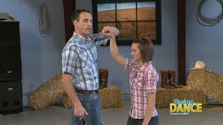 Swing Dancing - Lesson 3  Basic Turns 1&2 for Country Dance or Basic 4 Count Swing for any occasions