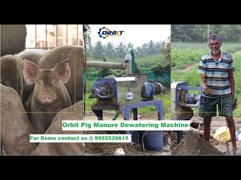 Pig Manure Dewatering Machine