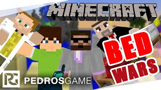 Pedro, GEJMR, House a Ment | Minecraft minihry | E37 - BedWars | PC CZ/SK | 1080p