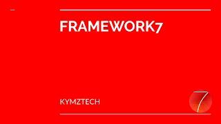 Framework 7 tutorials for beginners 2019 (Intro)