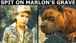 Clementine Spits On Marlon