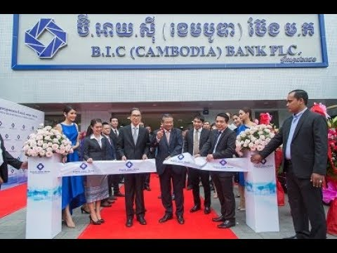 Grand Opening BIC BANK