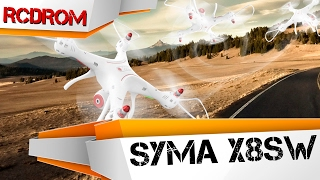 Лучший квадрокоптер для новичка Syma X8SW. Обзор - Распаковка и полет