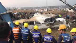 Latest pictures and videos: US-Bangla plane crash