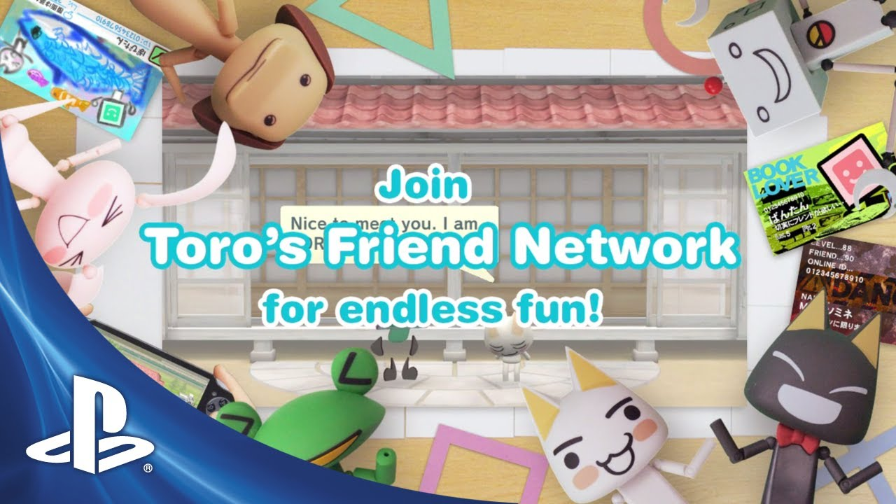 Toro's Friend Network, Paint Park Plus Out Tomorrow on PS Vita