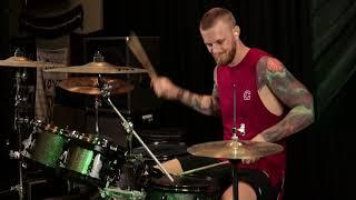 """Cornered"" - Original Metal Song (Guitar + Drum Playthrough)"