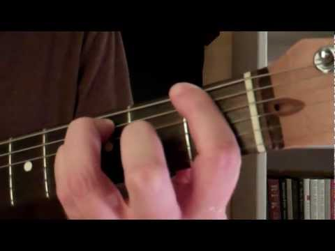 How To Play the F5 Power Chord On Guitar (Nirvana - Smells Like Teen Spirit)