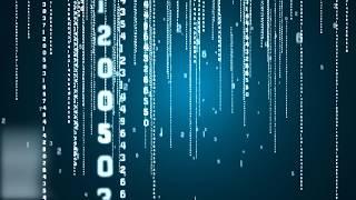 Matrix rain code | Matrix code Digit rain effect screensavers | Matrix rain fall wallpaper