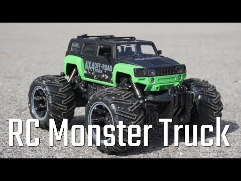 Crazy Fast Mud Monster Pickup Remote Control RC Truck/Car toy review and unboxing