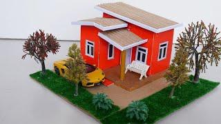 Miniature Dollhouse DIY   Step by Step