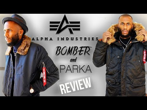 "ALPHA INDUSTRIES: ""Bomber & Parka"" REVIEW 