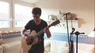 Ich steh an deiner Krippen hier live - David Senz - Weihnachtslieder - Akustik Gitarre