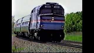 The BEST Old School Amtrak K5LAs