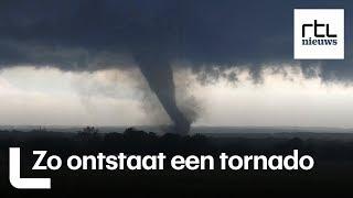 Spectaculair, maar dodelijk: zo ontstaat een tornado - RTL NIEUWS